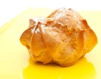 Der yummy Brauenkuchen Stockfotografie