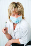 Der Zahnarzt Lizenzfreie Stockbilder