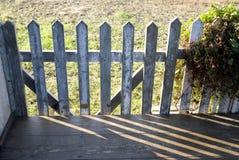 Der Zaun stockbild