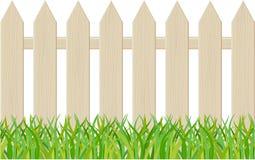Der Zaun getrennt auf einem weißen Hintergrund Stockbilder