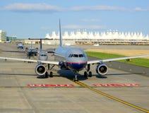 In der Zeile planiert @ den Flughafen Lizenzfreie Stockfotografie