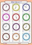 Der Zeit sagen, was die Zeit ist, Lizenzfreie Stockfotografie