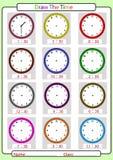 Der Zeit sagen, was die Zeit ist, Stockfotografie