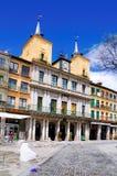 Piazza-Bürgermeister, Segovia, Spanien Stockfotos