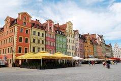 Der zentrale Platz in Breslau Stockfoto
