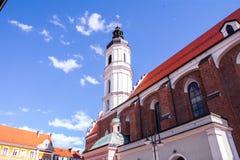 Der zentrale Stadtteil von Opole Lizenzfreies Stockbild