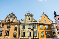 Der zentrale Stadtteil von Opole in Polen Lizenzfreies Stockfoto