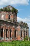 Der zerstörte Tempel Stockfotos