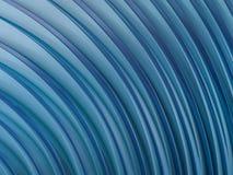 Der Zusammenfassung Form-Blauhintergrund swirly 3d stock abbildung