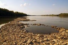 Der zweite längste Fluss in Europa: die Donau stockbilder