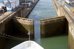 Der zweite Zugang des Panamakanals vom Pazifischen Ozean Stockfotos