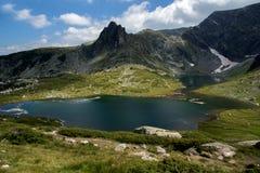 Der Zwilling, die sieben Rila Seen, Rila-Berg Stockbilder