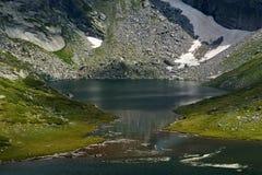 Der Zwilling, die sieben Rila Seen, Rila-Berg Stockfotos