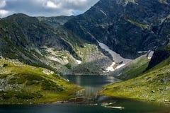 Der Zwilling, die sieben Rila Seen, Rila-Berg Lizenzfreie Stockfotos