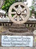 Der Zyklus von thailändischen Leuten der Natur nennen Thannajak Stockbilder
