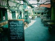 Dera Heurige Mayer am Pfarrplatz fotografia stock
