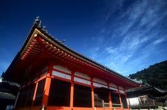 dera kiyomizu京都 免版税库存图片