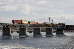 Derailed Train Royalty Free Stock Image