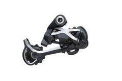 Derailleur traseiro da bicicleta fotografia de stock royalty free