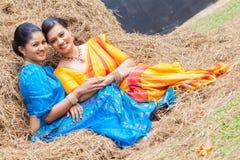 Derana Kalagame Aurudu - девушки Стоковое Изображение