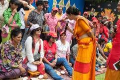 Derana Kalagame Aurudu Foto de Stock