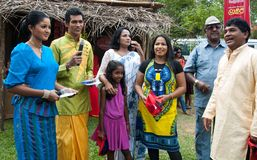 Derana Kalagame Aurudu Stock Photo