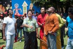 Derana Kalagame Aurudu - tosing Royalty Free Stock Image