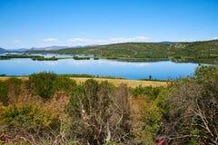 Deransko sjö nära Mostar, Bosnien och Hercegovina Arkivfoton