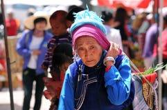 deras kinesisk sell för bondegodamarknad royaltyfri foto