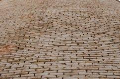 Derawar堡垒巴哈瓦尔布尔巴基斯坦砖墙特写镜头  库存图片