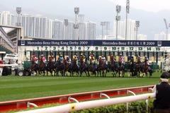 derby 2009 Hong Kong royaltyfria foton