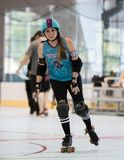 Derby Babe royalty-vrije stock afbeelding