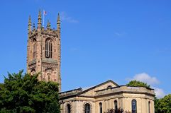 Derby Cathedral. Royalty Free Stock Image