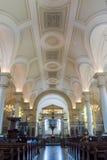 Derby Cathedral Nave Ceiling HDR lodlinjefotografi Fotografering för Bildbyråer