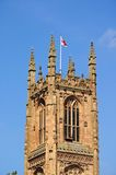 Derby Cathedral tower. Stock Images