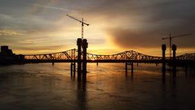 Derby City Sunset Fotografia de Stock Royalty Free