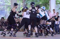 Derby del rullo - il pacchetto Fotografie Stock