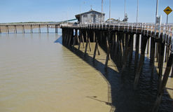 Derby Jetty. Kimberley, WA Royalty Free Stock Image