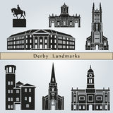Derby landmarks and monuments Stock Photos