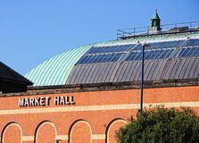 Derby Market Hall Royaltyfria Foton