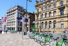 Derby Square, Liverpool. Royalty Free Stock Photo