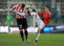 Derby Wisla Cracov - Cracovia Stock Photography