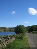 Derbyshire 3 wzgórza Obrazy Royalty Free