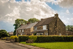 Derbyshire Cottages Royalty Free Stock Photography