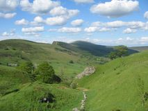 Derbyshire Countryshire Stock Image