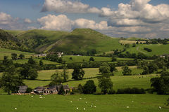 Derbyshire Countryside Royalty Free Stock Photo