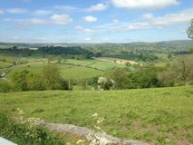 Derbyshire countryside Royalty Free Stock Photos