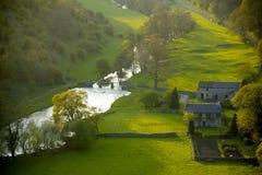 derbyshire England parku narodowego szczyt komunalne Obrazy Stock
