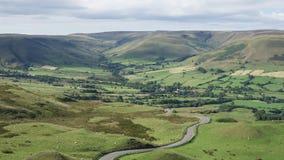 Derbyshire-Hintergrund Lizenzfreies Stockfoto