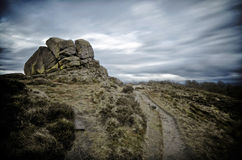 Derbyshire Peak District National Park Royalty Free Stock Photos